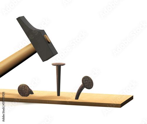 hammer nagel brett f stockfotos und lizenzfreie bilder. Black Bedroom Furniture Sets. Home Design Ideas