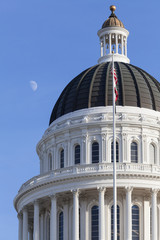 Wall Mural - California State House and Capitol Building, Sacramento