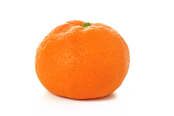 Satsuma; Japanese orange  on the white background