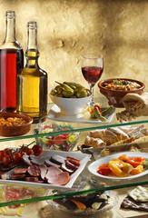 traditional food buffet