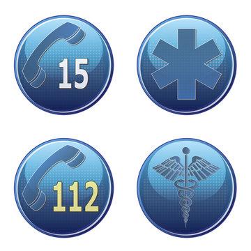 Symbole urgence.