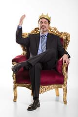 Boss sieht sich als König