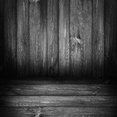 Background wooden panel boards grey