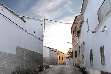 Wall Mural - Calle de Santiago del Campo, Cáceres, España