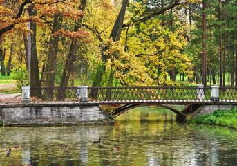 Catherine Park. Tsarskoe Selo near St. Petersburg, Russia