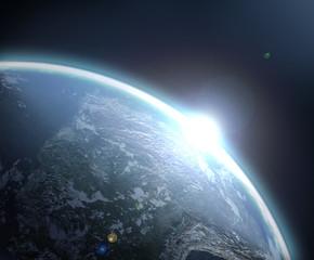 Alba sul mondo