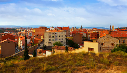 General view of Teruel in summer day