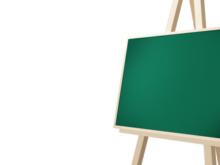 Easel with Green Board