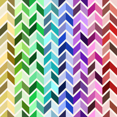 Seamless geometric pattern, colorful mosaic