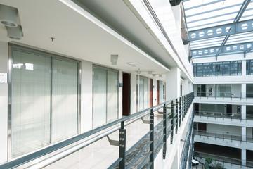 Modern buildings, the corridor,