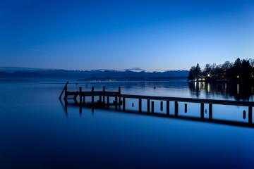 Starnberg Lake by night