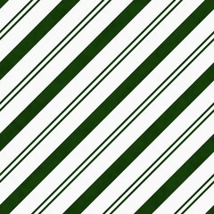 Hunter Green Diagonal Striped Textured Fabric Background