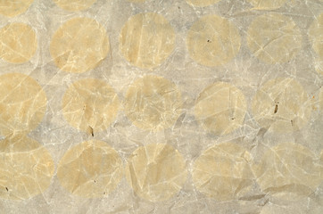 Wall Mural - Baking paper with traces of meringue