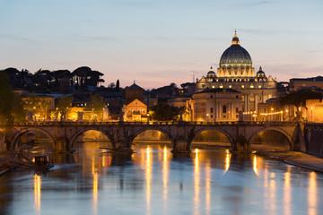 Canvas Print - Basilique Saint-Pierre Vatican Rome