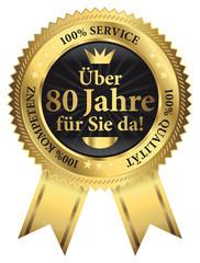 Über 80 Jahre für Sie da! 100% Qualität - Service - Kompetenz