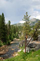 South fork San Soaquin river California