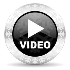 video christmas icon