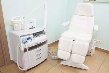 Chair in a beauty salon