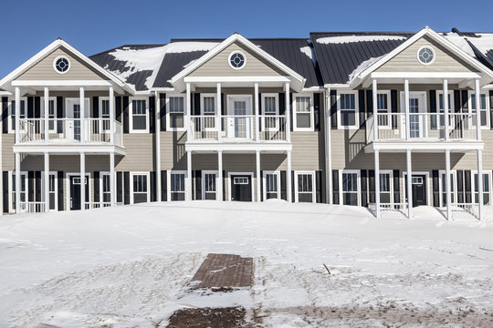 Winter Townhouses