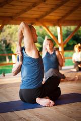 Yoga training process