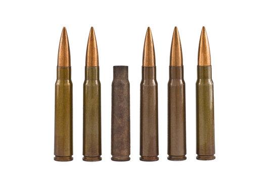 sleeve of cartridges