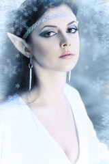 winter elf princess