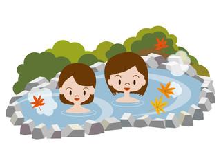 露天風呂(紅葉)