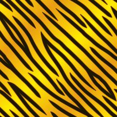 Gold Tiger Print