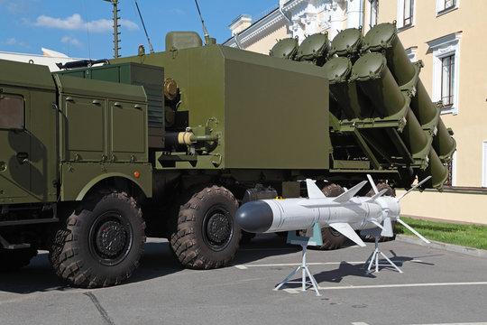 Coastal missile complex