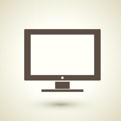 monitor and display icon