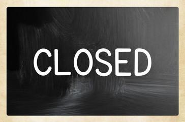 closed concept
