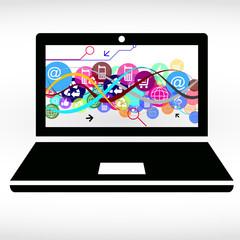 иллюстрация интернет бизнес