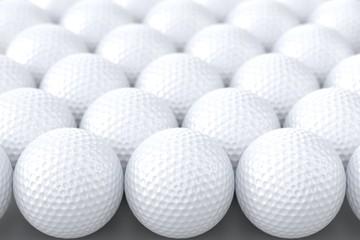 Zelfklevend Fotobehang Golf Golf Balls