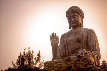 Photo sur Plexiglas Buddha Giant Buddha