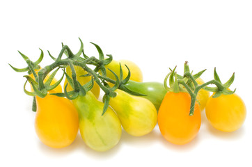 Yellow vine tomatoes