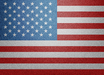 Denim USA flag