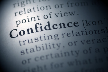 Wall Mural - confidence