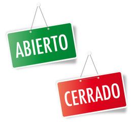 Abierto - Cerrado