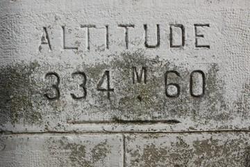 Altitude de la gare de Lubersac (Corrèze)