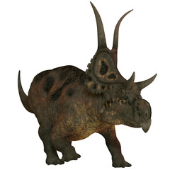 Diabloceratops on White