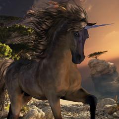 Grulla Buck Unicorn