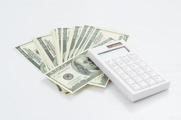 Calculator on dollar