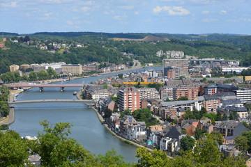 Panorama de la ville de Jambes