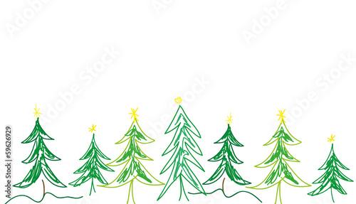 weihnachtsbaum grafik gemalt gr n stockfotos und. Black Bedroom Furniture Sets. Home Design Ideas