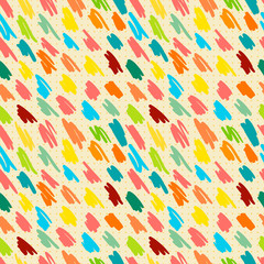Seamless pattern with doodle stripes.