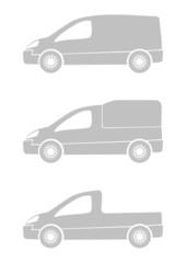 cargo vehicle vectors