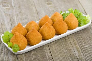 Coxinha de Galinha - Brazilian deep fried chicken snack