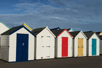 Goodrington Beach Huts