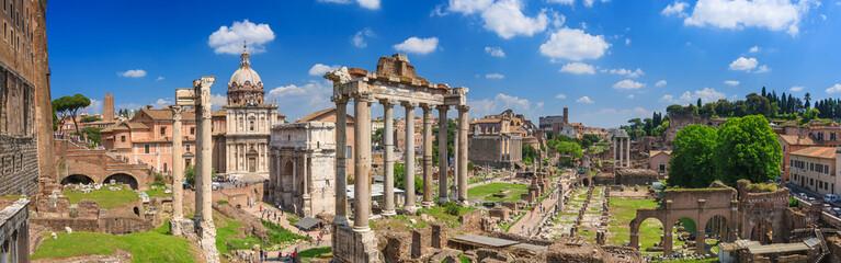 Poster Rome Roman Forum in Rome