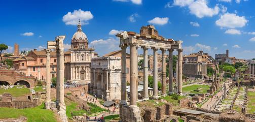Foto op Plexiglas Rome Roman Forum in Rome
